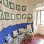 Pralormo castle,the blue room ,Piedmont,Italy,Europe