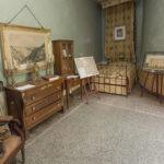 Pralormo castle, the room of the minister Carlo Beraudo di Pralormo,Piedmont,Italy,Europe